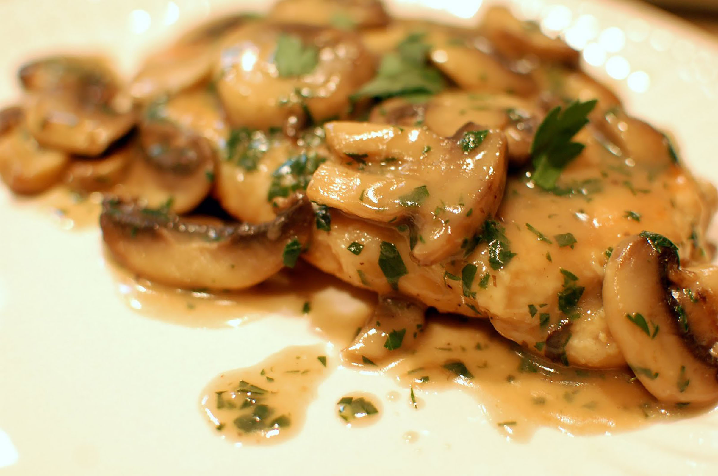 Baked Chicken Marsala