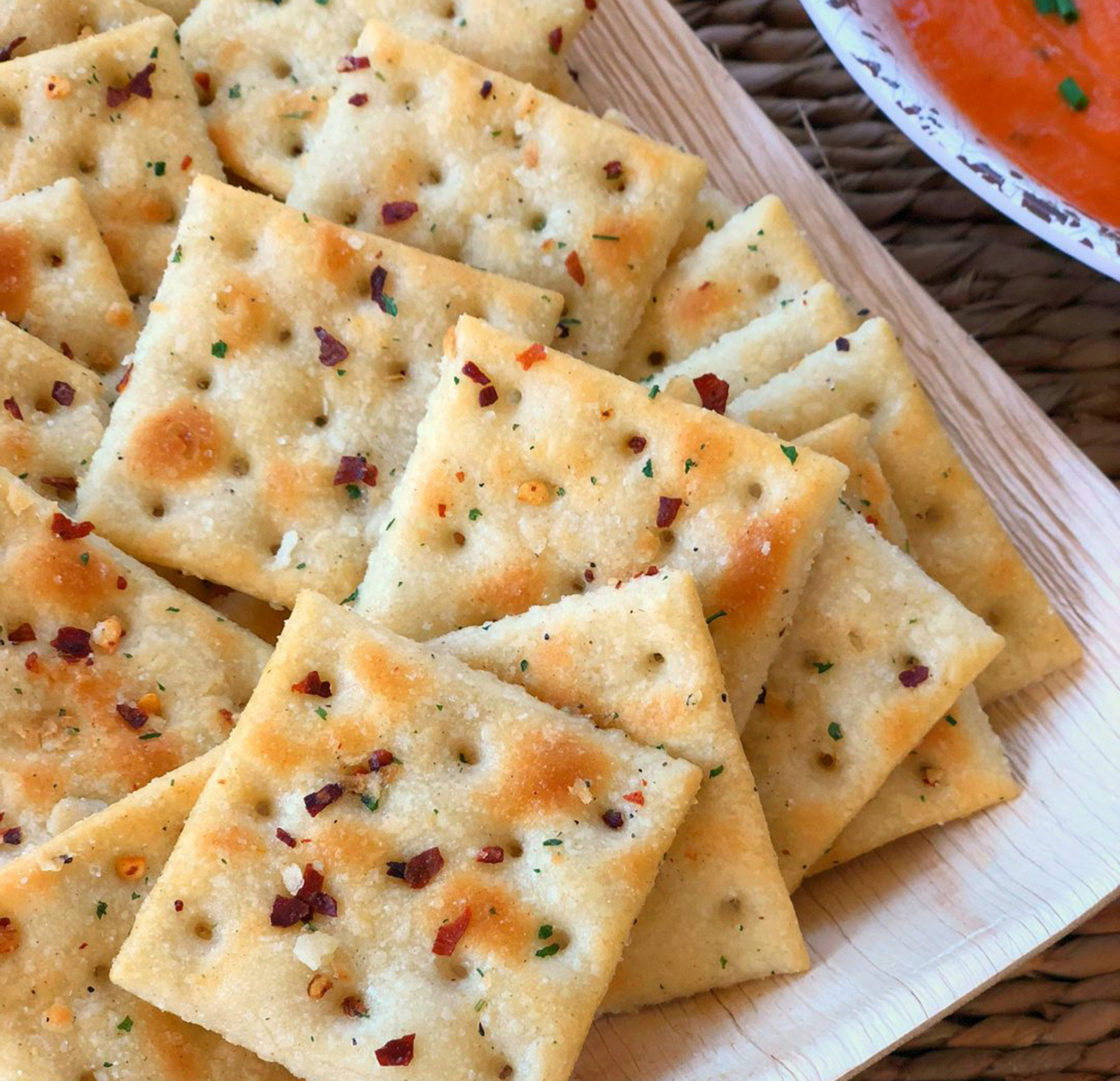 Spicy Ranch Crackers